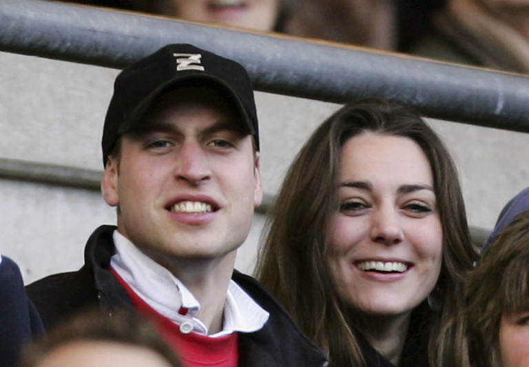 Уилям и Кейт през 2007г.