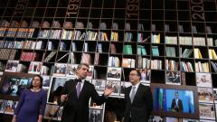 Плевнелиев завеща на Радев надграждането на президентската библиотека