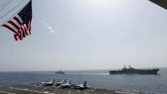 САЩ изпрати самолетоносач за свобода в Южнокитайско море и успокоение на съюзници