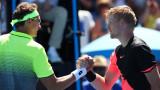 Кайл Едмънд върви по график за четвъртфинал с Григор Димитров