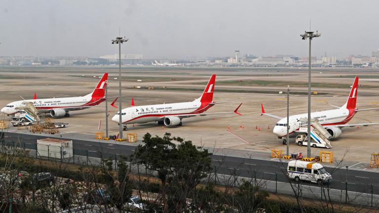 Китай засилва натиска върху Boeing, тъй като авиокомпанииизискват компенсации за
