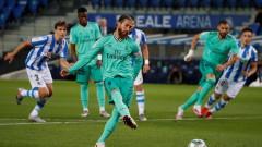 Реал (Мадрид) измести Барселона от лидерското място в Ла Лига!