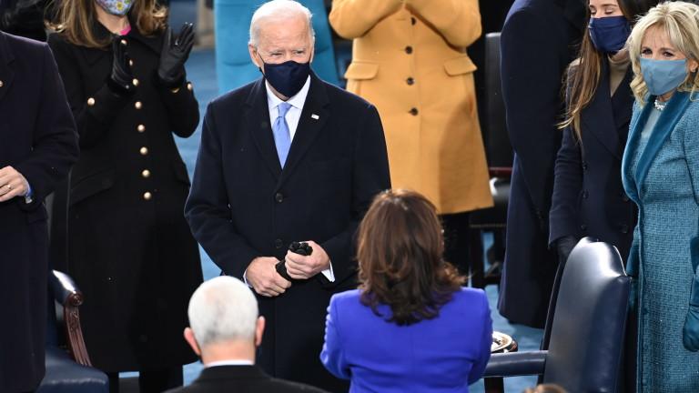 Джоузеф Байдън встъпи в длъжност като 46-и президент на САЩ,