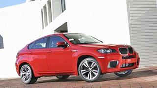Първи снимки и информация за BMW X6 M (галерия)