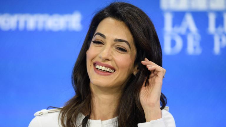 Малката тайна на Амал Клуни за щастлив брак