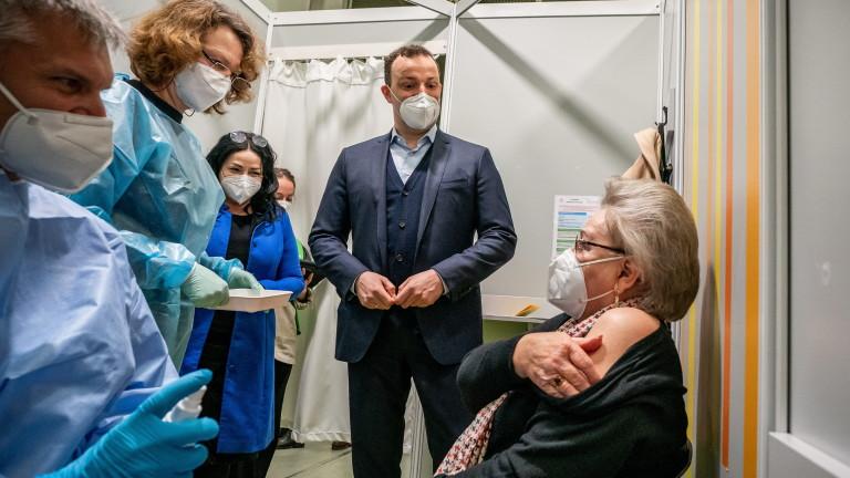 Германия ще имунизира 20% от населението си срещу коронавируса до