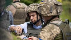 Зеленски планира изтегляне на войски от фронтовата линия в Източна Украйна