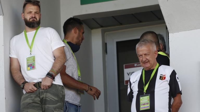 Христо Крушарски няма да гледа на живо ЦСКА - Локомотив (Пловдив)