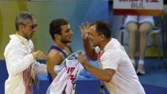 Радослав Великов с бронзов медал от европейското