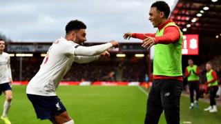 Ливърпул с победа номер 15 във Висшата лига за сезона, мърсисайдска класика срещу Борнемут