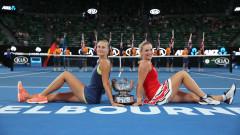 Тимеа Бабош и Кристина Младенович са шампионки на двойки в Мелбърн