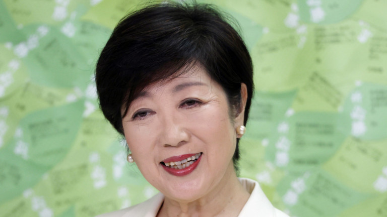 Избирателите в Токио преизбраха губернатора Юрико Койке, съобщава обществената телевизия