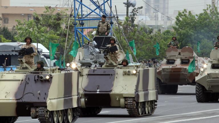 Иран с необявени военни учения до Турция
