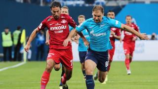 Попето започна титуляр, но Спартак допусна срамна загуба от Зенит