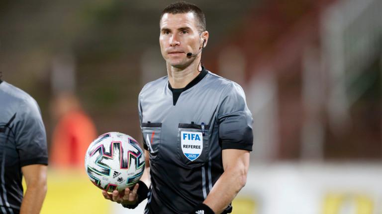 Георги Кабаков ще бъде част от Евро 2020, но като четвърти съдия