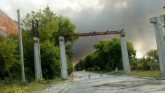 В Шишманци продължава да гори, има и обгазяване