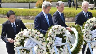 Джон Кери посети Мемориала в Хирошима