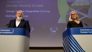 Водородът - основа на енергийния план на ЕС за въглеродно неутрална Европа