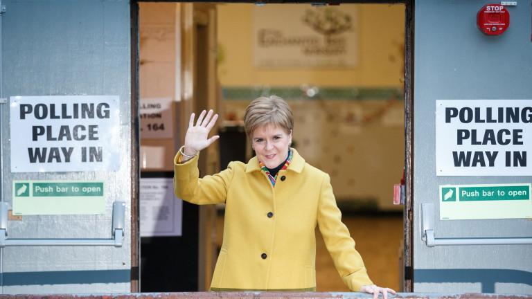 Никола Стърджън настоя за нов референдум за независимост на Шотландия