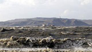 Азовско море замръзна