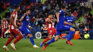 Луис Суарес спаси Атлетико срещу Хетафе