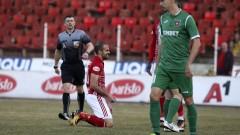 Среден пръст и неотсъдена дузпа за Ботев (Враца) срещу ЦСКА (ВИДЕО)