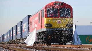 Потегли първият товарен влак от Великобритания за Китай