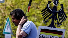 Над 40 задържани в Берлин на протест срещу ковид мерки