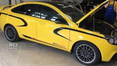 Спортната Lada Vesta идва в началото на 2018-а