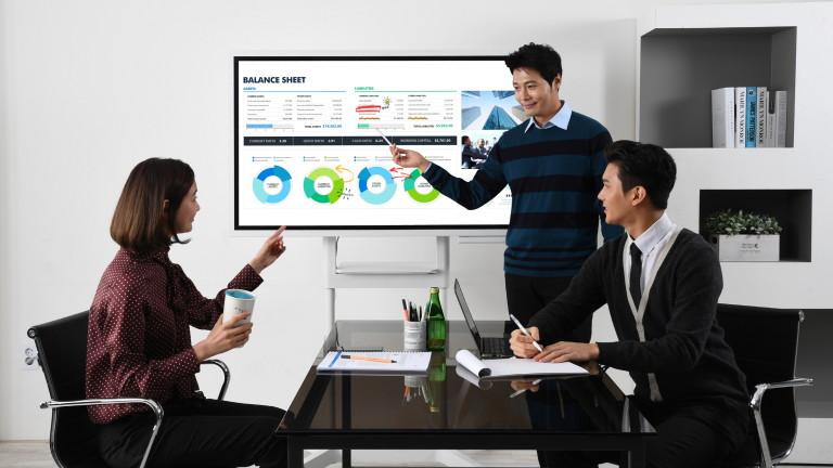 Представенза първи път на международното технологично изложение CES, Samsung Flip