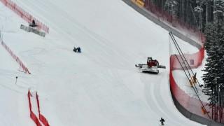 Отмениха днешния старт на Световната купа в Банско заради обилния снеговалеж