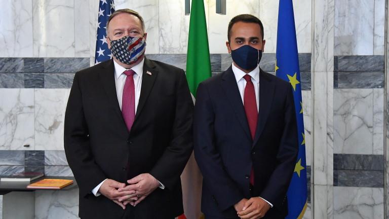 Помпео предупреди Италия за икономическото влияние на китайските комунисти