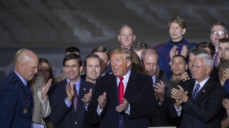 Тръмп създаде космически войски