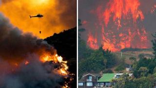 Огнен ад в Нова Зеландия