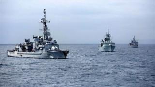 НАТО трупа сили в Средиземно море