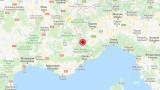 Слабо земетресение в Северна Италия