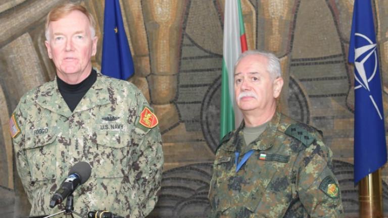 Заедно сме по-силни, обясни на съвместно учение с НАТО, генерал-лейтенант Тодоров