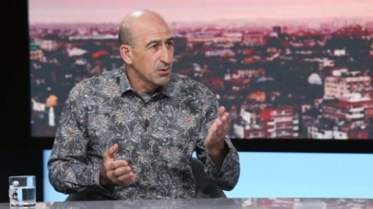 Вицепрезидентът на БФС и отговорник за националните отбори - Йордан
