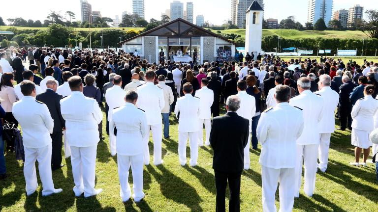 Военноморските сили на Аржентина съобщиха, че частна компания, наета от