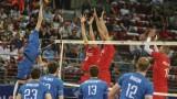 Българските волейболисти играха много слабо и бяха разгромени от Русия