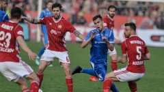 ЦСКА - Левски 0:2 (Развой на срещата по минути)