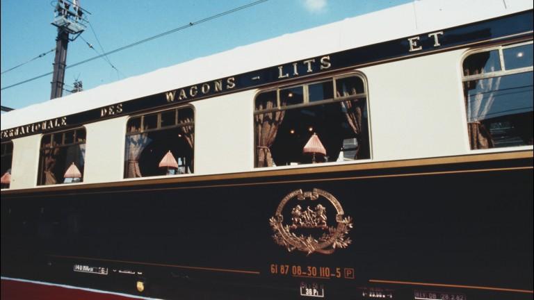 Със закъснение от 45 минути най-известният влак в света -