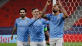 Манчестър Сити победи с 2:0 Борусия (Мьонхенгладбах) в мач от осминафиналите в Шампионската лига