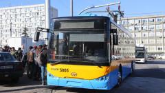 С по-дълга електробусна линия борят мръсния въздух в София