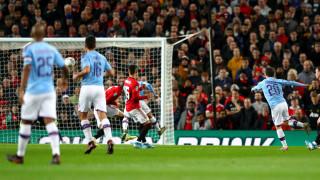 """Манчестър Сити надигра тотално Манчестър Юнайтед на """"Олд Трафорд"""""""