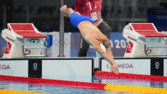Антъни Иванов се провали на 200 метра бътерфлай в Токио