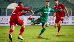 ФК ЦСКА 1948 - Берое: 1:0 (Развой на срещата по минути)