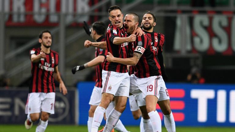 Защитникът на Милан - Леонардо Бонучикоментира победата на отбора с