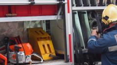 Пожарникари и спасители в протестна готовност