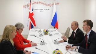 Кремъл разкри подробности за срещата Путин-Мей